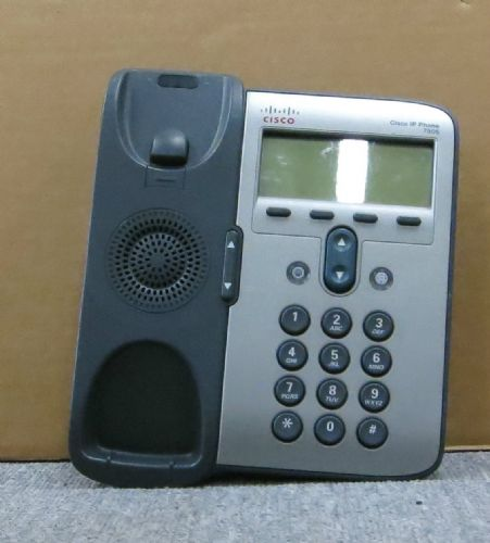 Cisco CP-7906G 7906 VoIP IP Display Telephone Business Phone Desktop NO Stand